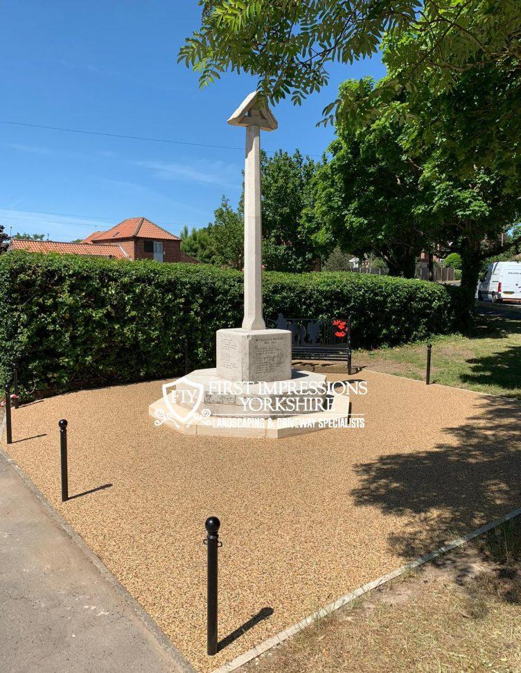 Updated War Memorial